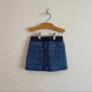 Old navy jean skirt with attached shorts 3t